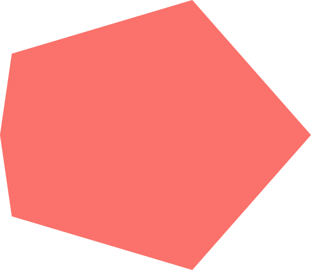red polgon